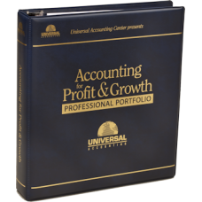 Accounting For Profit and Growth Professional Portfolio (Demonstration Book)